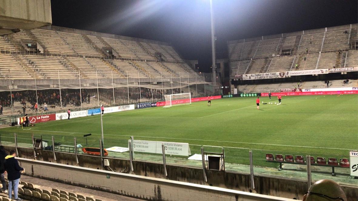 Salernitana Calcio Stadio / Serie B, Salernitana-Pescara 3 ...